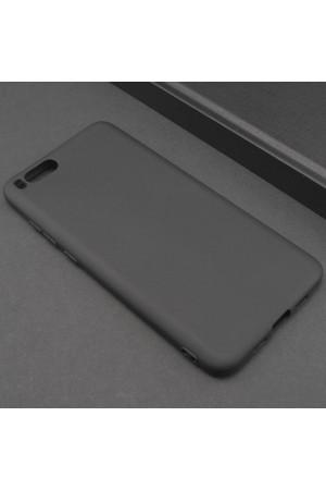 Чехол силиконовый для Xiaomi Mi Note 3, soft touch, черный