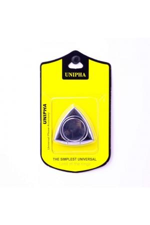 Кольцо-держатель для смартфона Unipha, серебряный