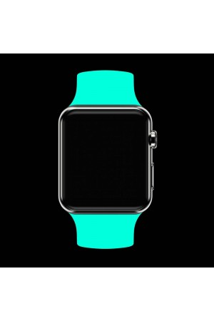 Силиконовый ремешок для Apple Watch 4/5 44 мм, мятный