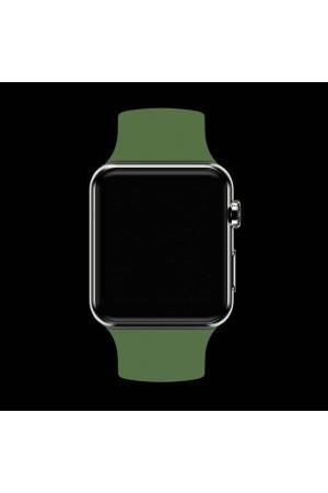 Силиконовый ремешок для Apple Watch 4/5 40 мм, светло зеленый