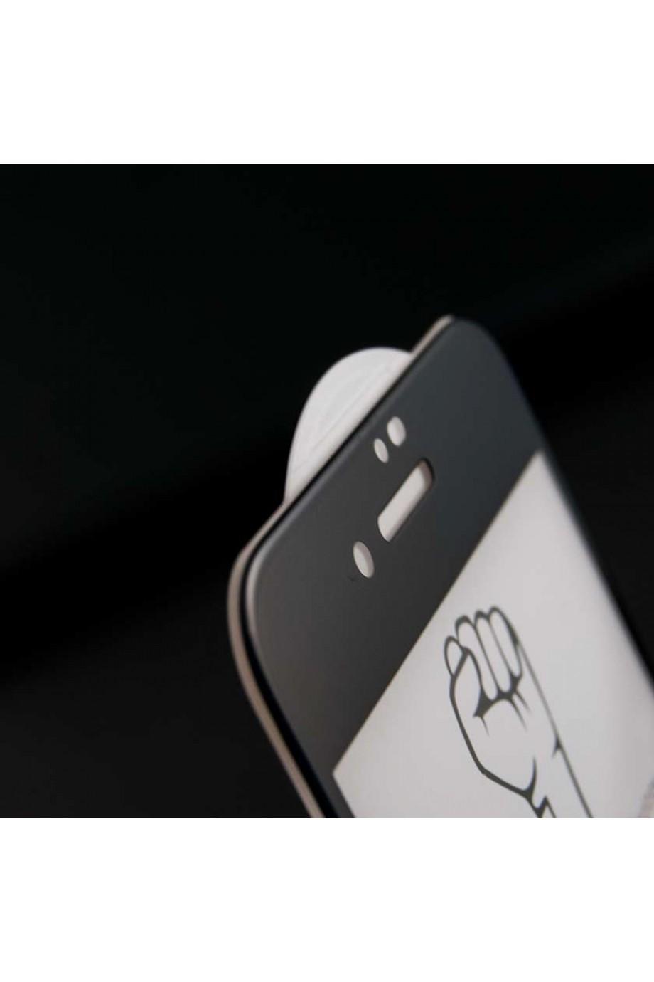 Защитное стекло 5D Mikomo для iPhone 7 Plus, черная рамка, полный клей