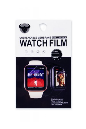 Гидрогелевая пленка для Apple Watch 1/2/3 42 мм