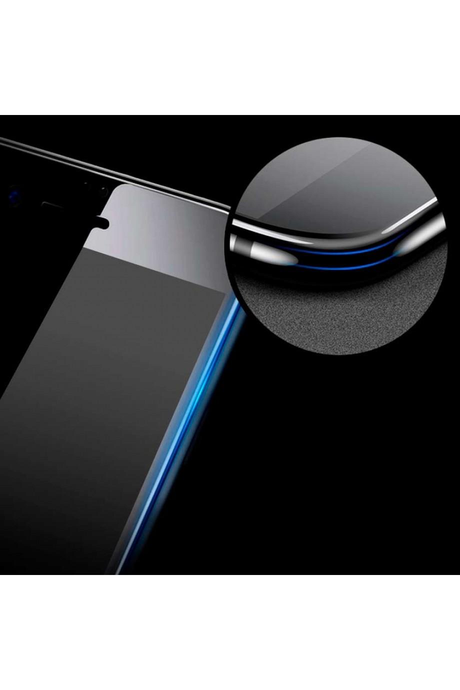 Защитное стекло 5D Mikomo для iPhone 7, черная рамка, полный клей