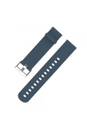 Силиконовый ремешок для Amazfit Bip, 20 мм, синий