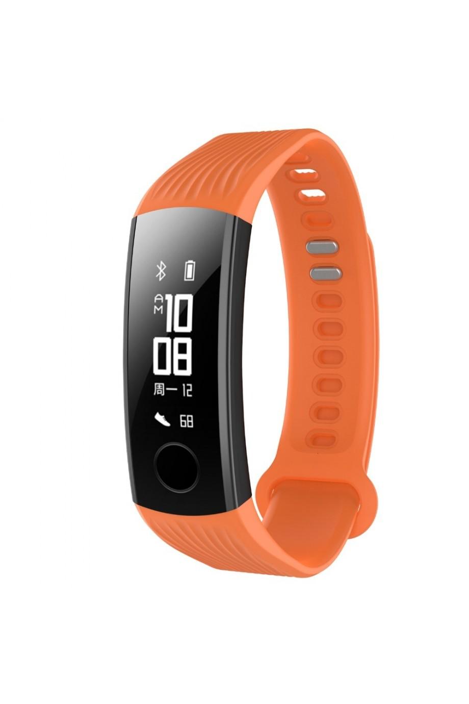 Силиконовый ремешок для Honor Band 3, оранжевый