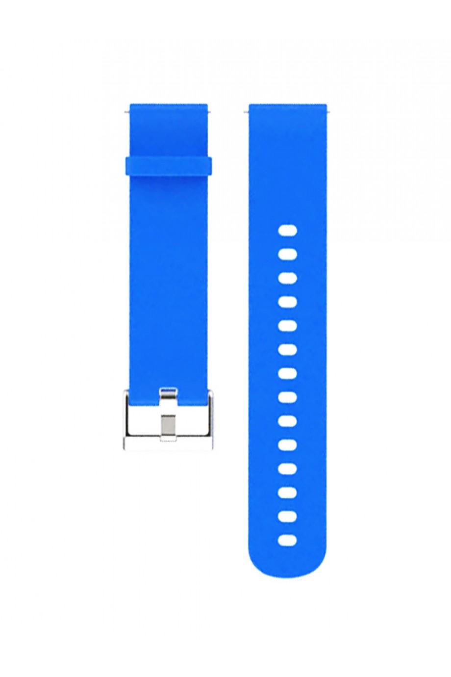 Силиконовый ремешок для Amazfit GTR 47 мм, 22 мм, голубой