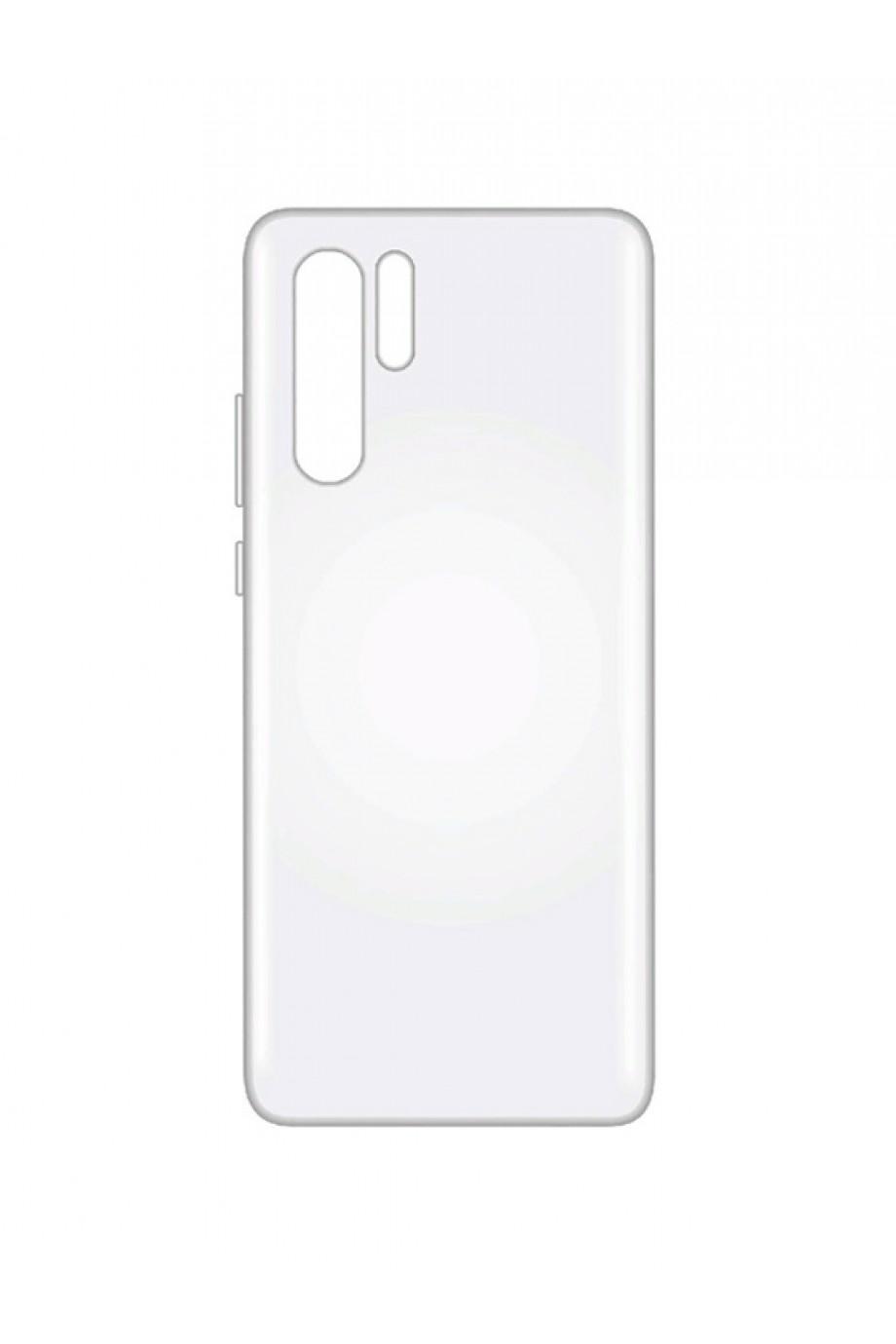 Чехол силиконовый для Huawei P30 Pro, прозрачный