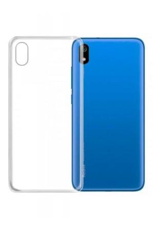 Чехол силиконовый для Xiaomi Redmi 7A, прозрачный
