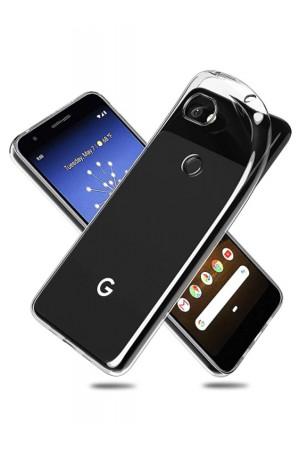 Чехол силиконовый для Google Pixel 3A, прозрачный