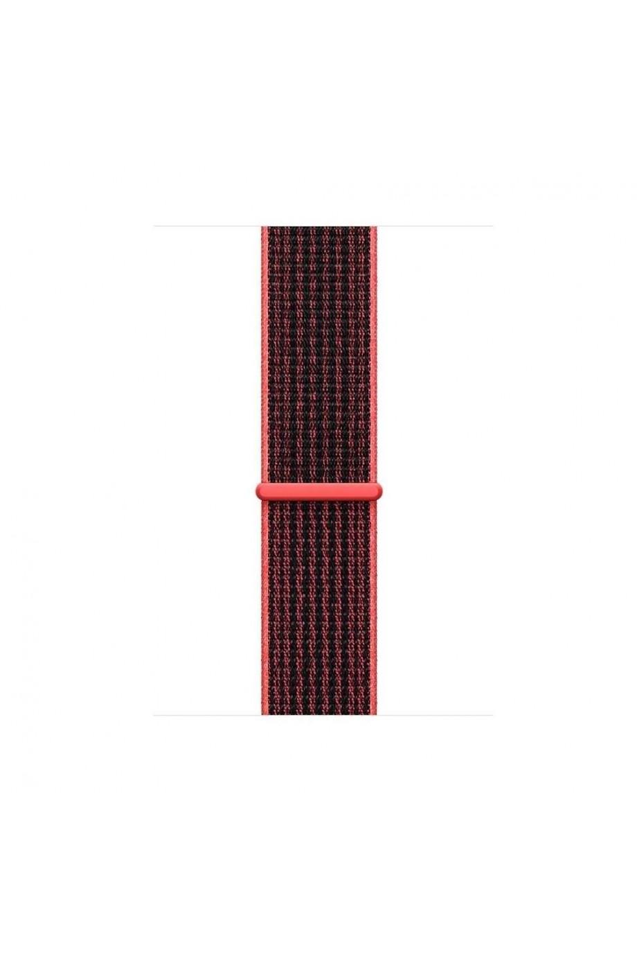 Нейлоновый ремешок для Apple Watch 4/5 40 мм, красный