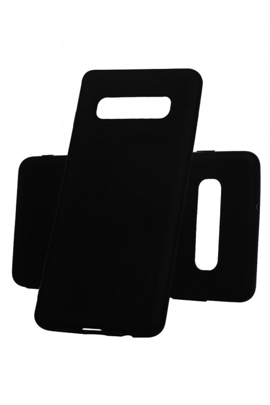 Чехол силиконовый для Samsung Galaxy S10, черный
