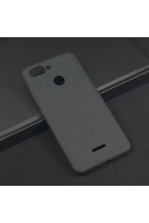 Чехол силиконовый для Xiaomi Redmi 6, черный