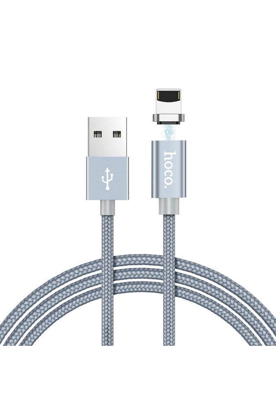 Кабель Hoco U40A USB – Lightning 8 pin, 1 м, магнитный