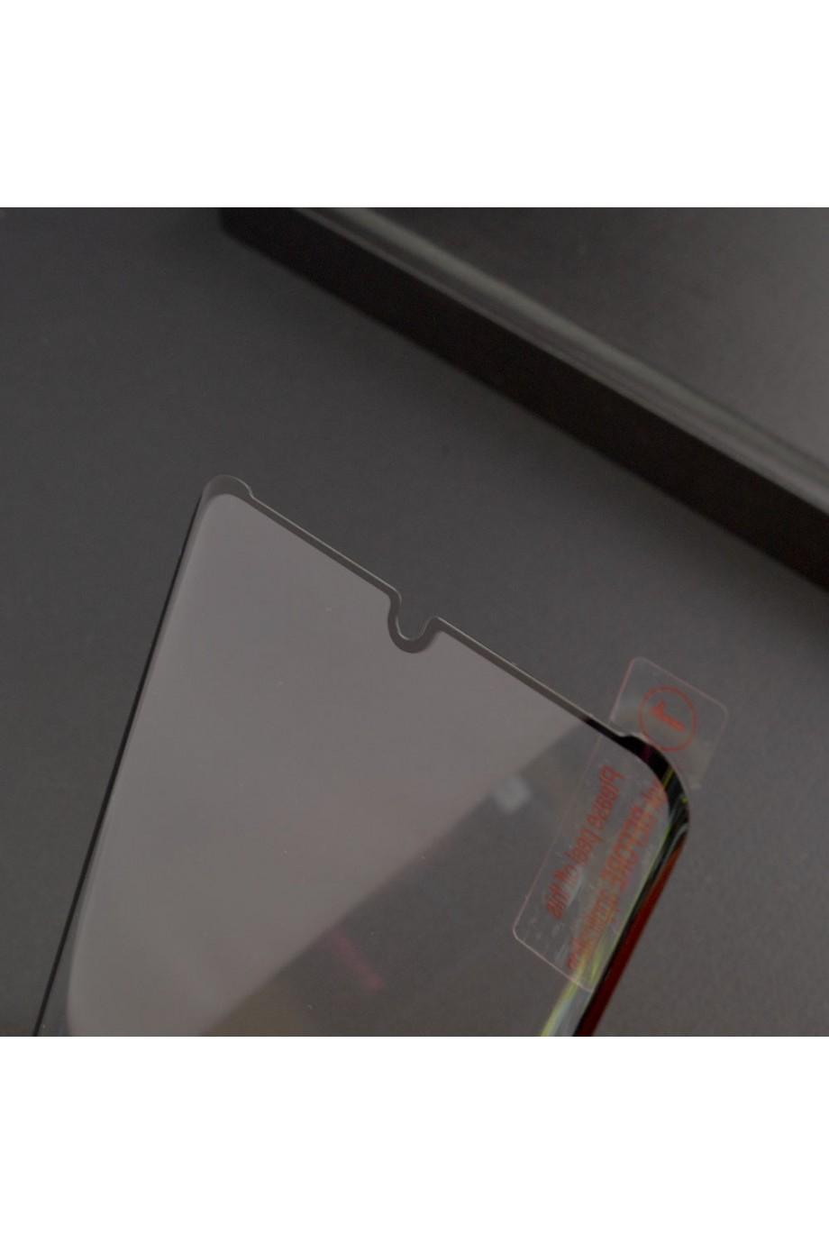 Защитное стекло 3D для Huawei P30 Pro, черная рамка, полный клей