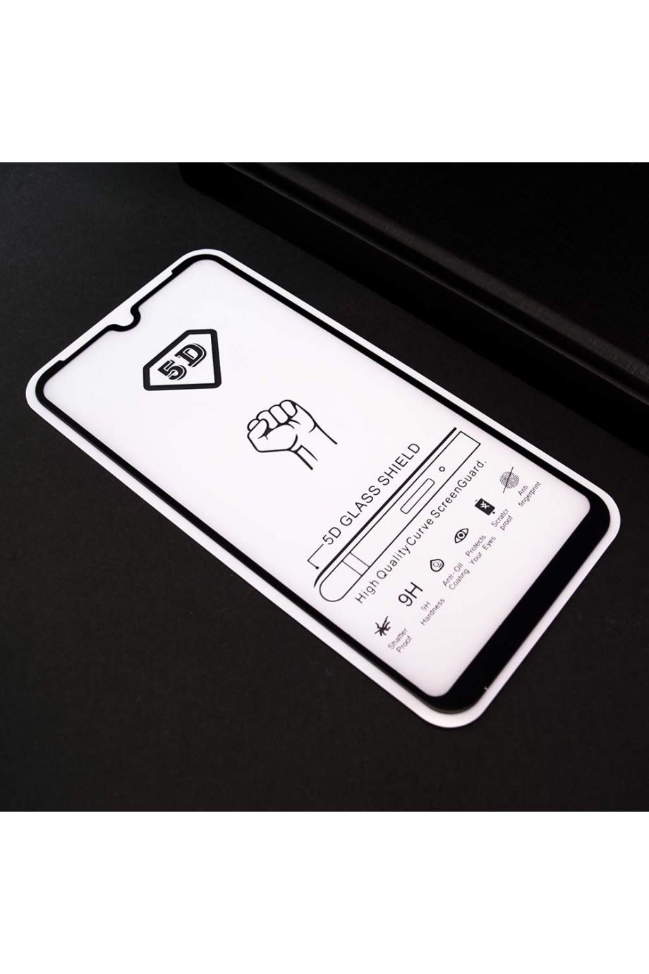 Защитное стекло 5D Mikomo для Xiaomi Mi 9 SE, черная рамка, полный клей