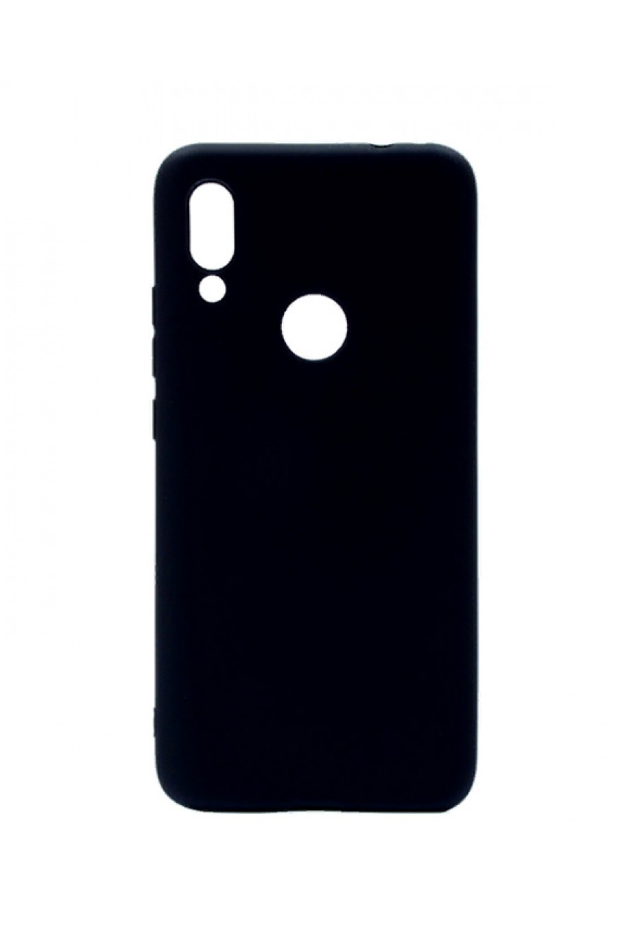 Чехол силиконовый для Xiaomi Redmi 7, черный