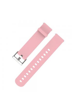 Силиконовый ремешок для Amazfit Bip, 20 мм, розовый