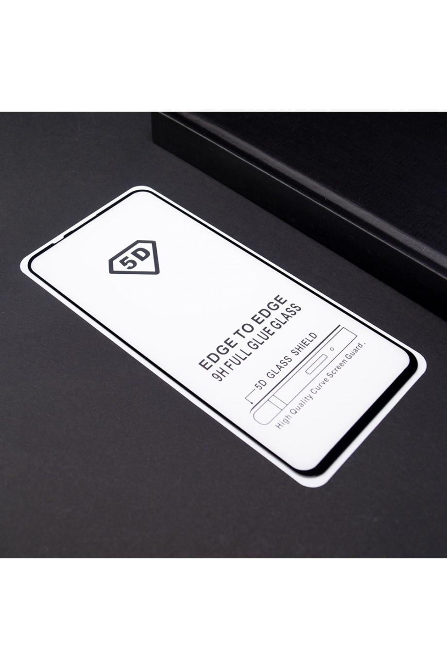 Защитное стекло 5D Mikomo для Honor 20, черная рамка, полный клей
