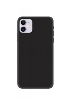 Чехол силиконовый для iPhone 11, черный