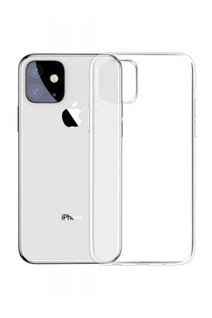 Чехол силиконовый Brauffen для iPhone 11, прозрачный