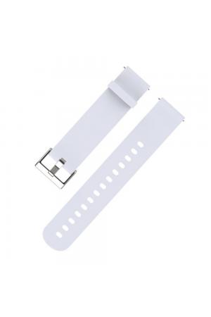 Силиконовый ремешок для Amazfit Bip, 20 мм, белый