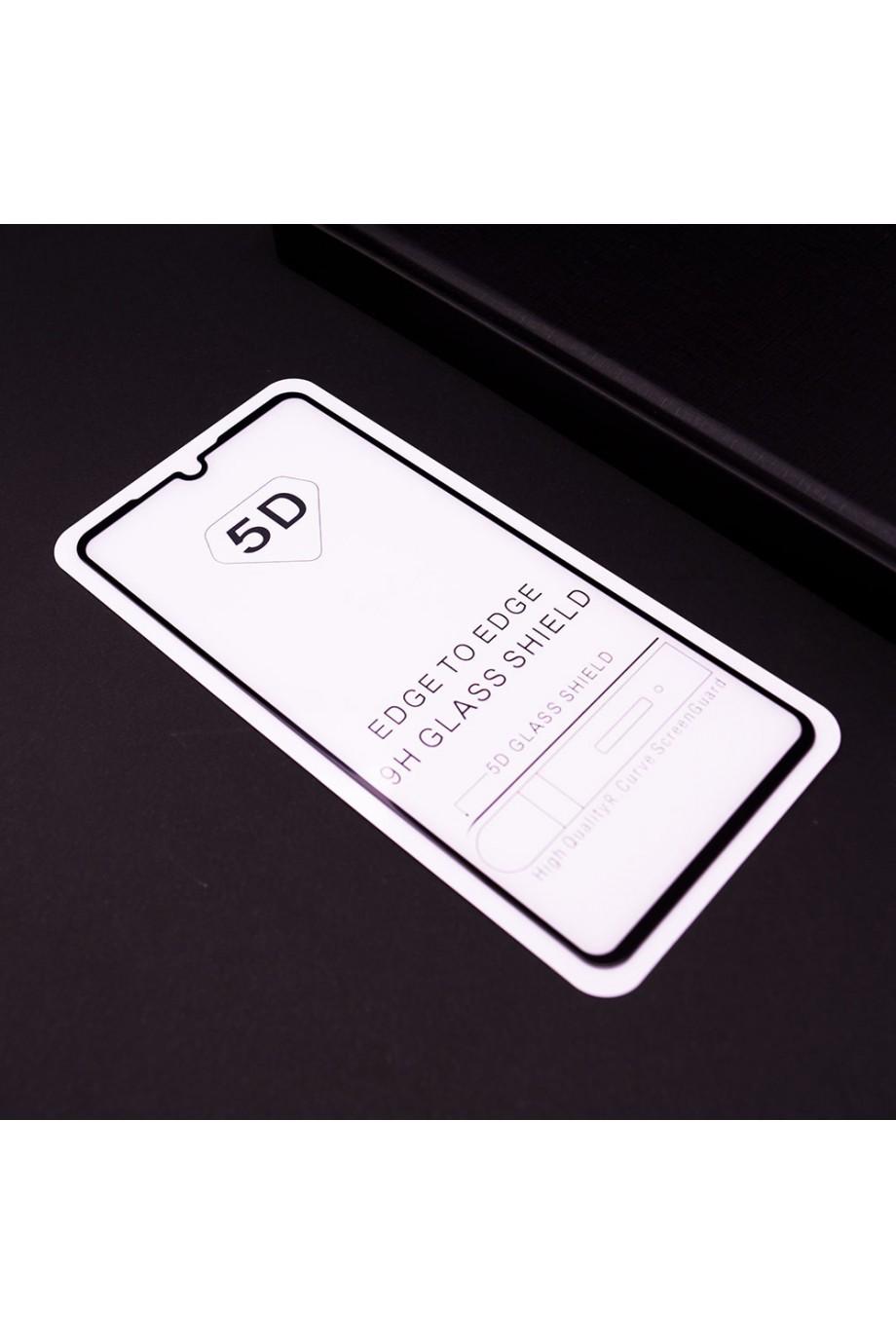 Защитное стекло 5D Mikomo для Huawei P30, черная рамка, полный клей