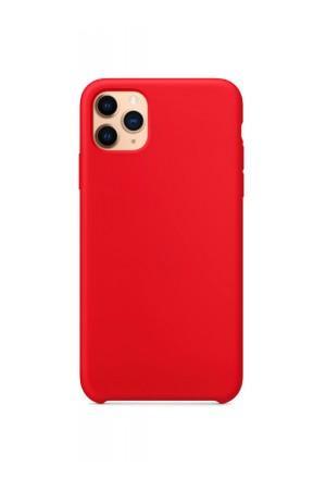 Чехол силиконовый для iPhone 11 Pro Max, красный