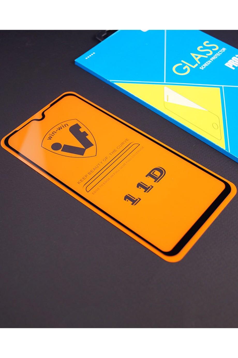 Защитное стекло 11D Glass Pro для Samsung Galaxy A10, черная рамка, полный клей, mk022