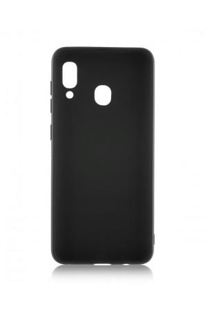 Чехол силиконовый для Samsung Galaxy A40, черный