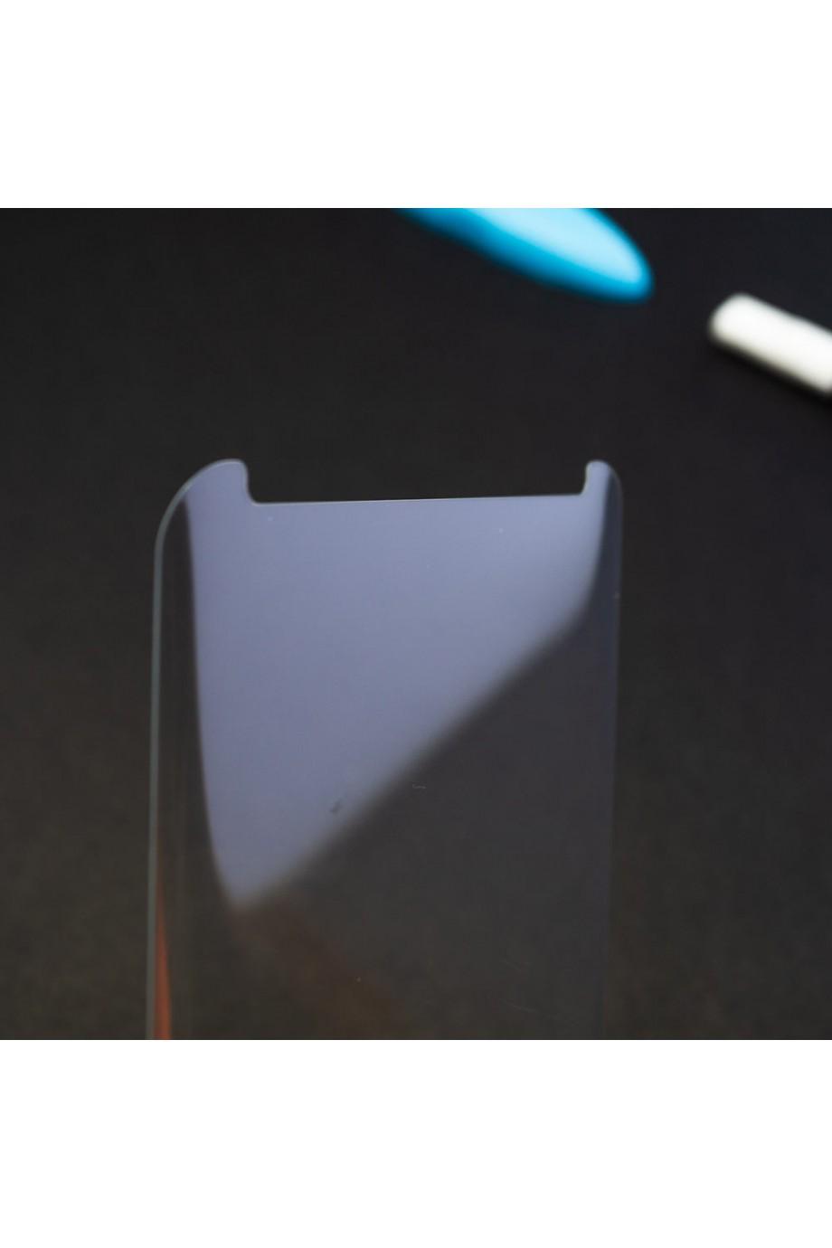 Защитное стекло 3D для Samsung Galaxy Note 9, UV с УФ лампой, полный клей