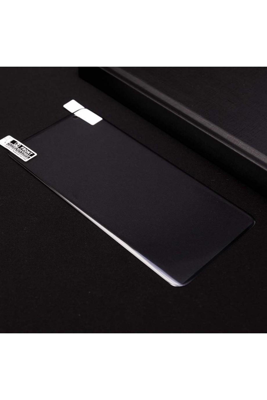 Защитная пленка 3D Mikomo для Samsung Galaxy S10 Plus, черная рамка, полный клей