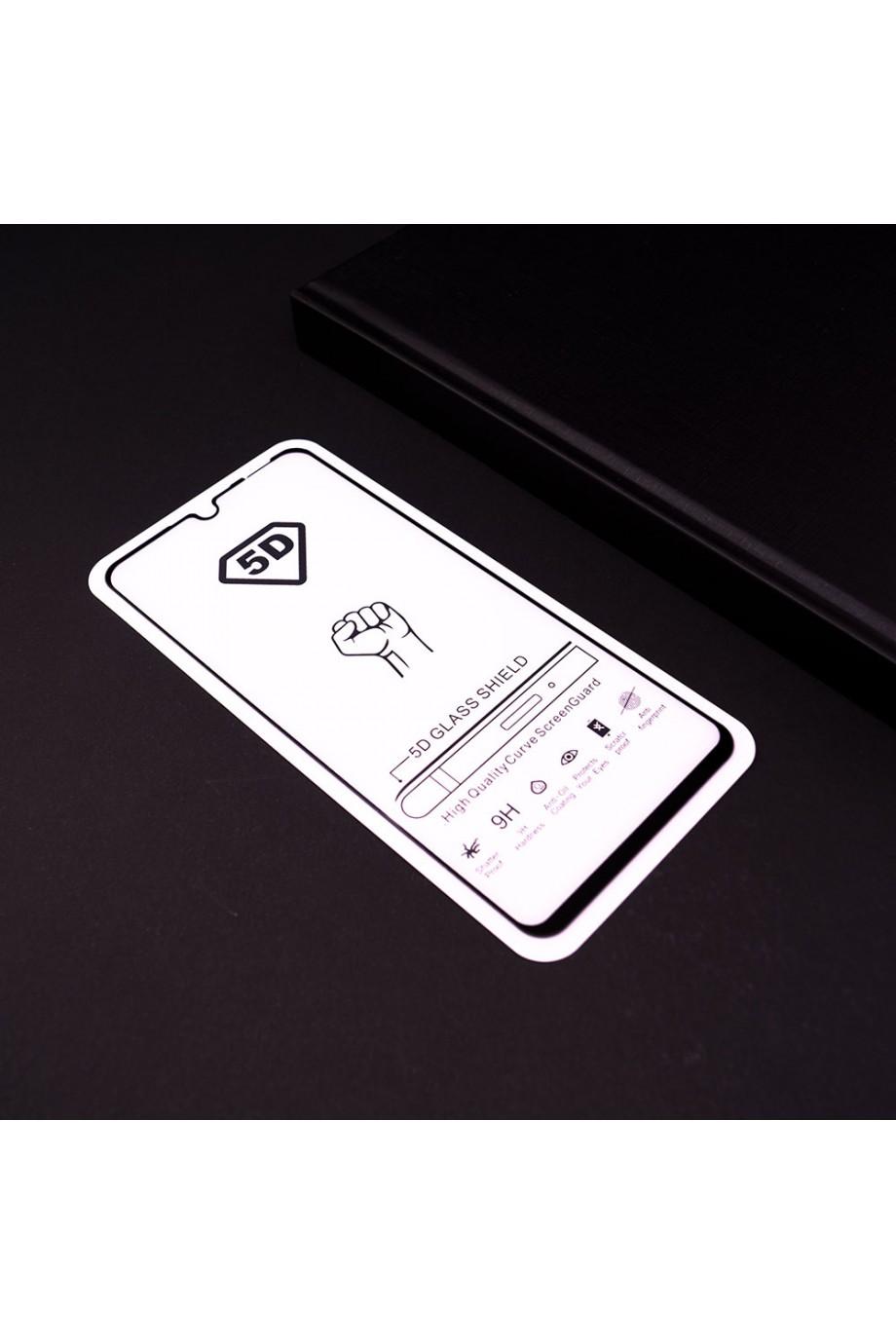 Защитное стекло 5D Mikomo для Honor 10i, черная рамка, полный клей