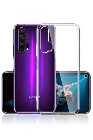 Чехол силиконовый для Honor 20 Pro, прозрачный