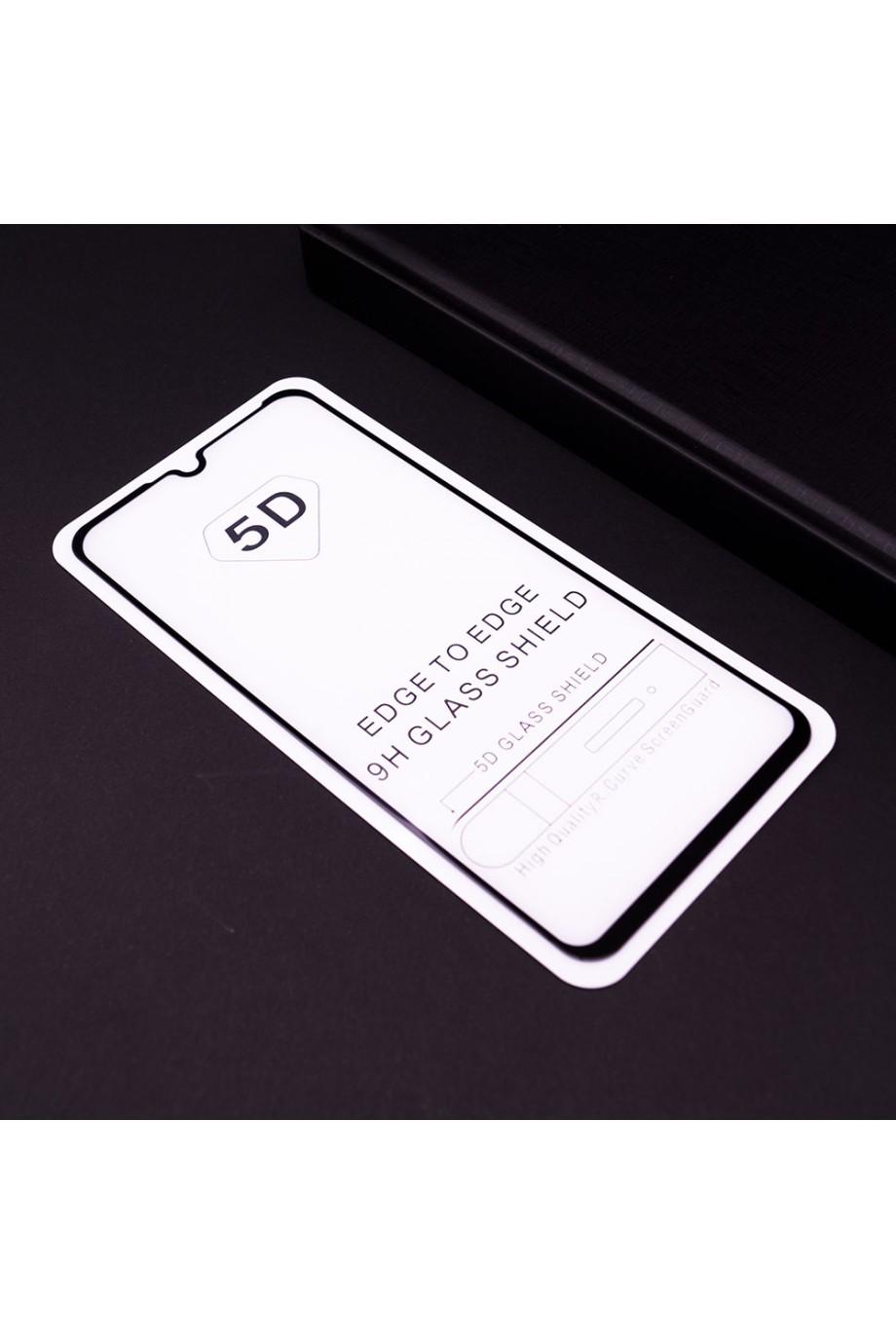 Защитное стекло 5D Mikomo для Huawei P30 Lite, черная рамка, полный клей