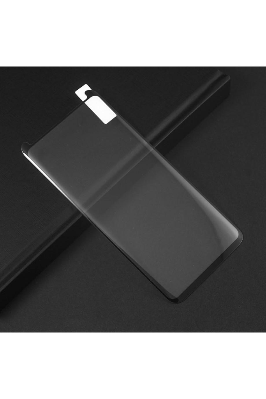 Защитное стекло 3D Mikomo для Samsung Galaxy S9, черная рамка, полный клей