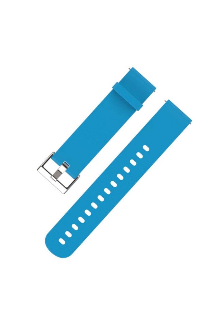 Силиконовый ремешок для Amazfit Bip, 20 мм, голубой