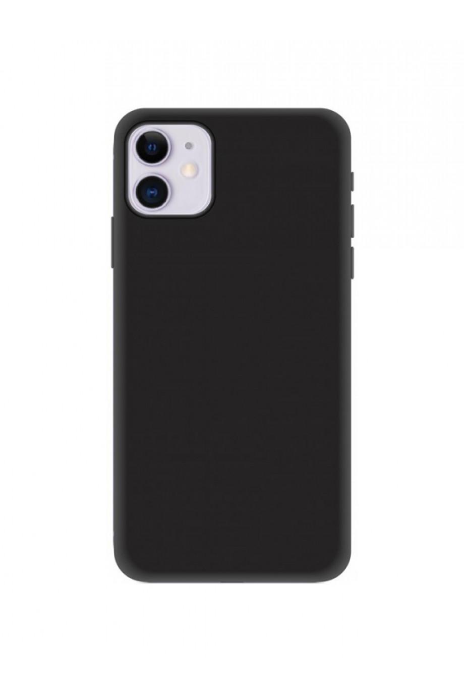 Чехол силиконовый для iPhone 11 Pro Max, черный