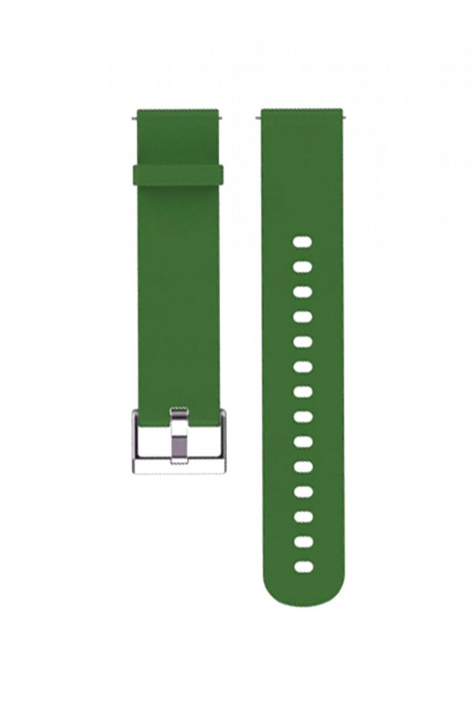 Силиконовый ремешок для Amazfit GTR 47 мм, 22 мм, зеленый