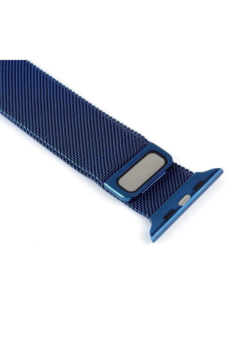 Металлический ремешок для Apple Watch 4/5 40 мм, синий