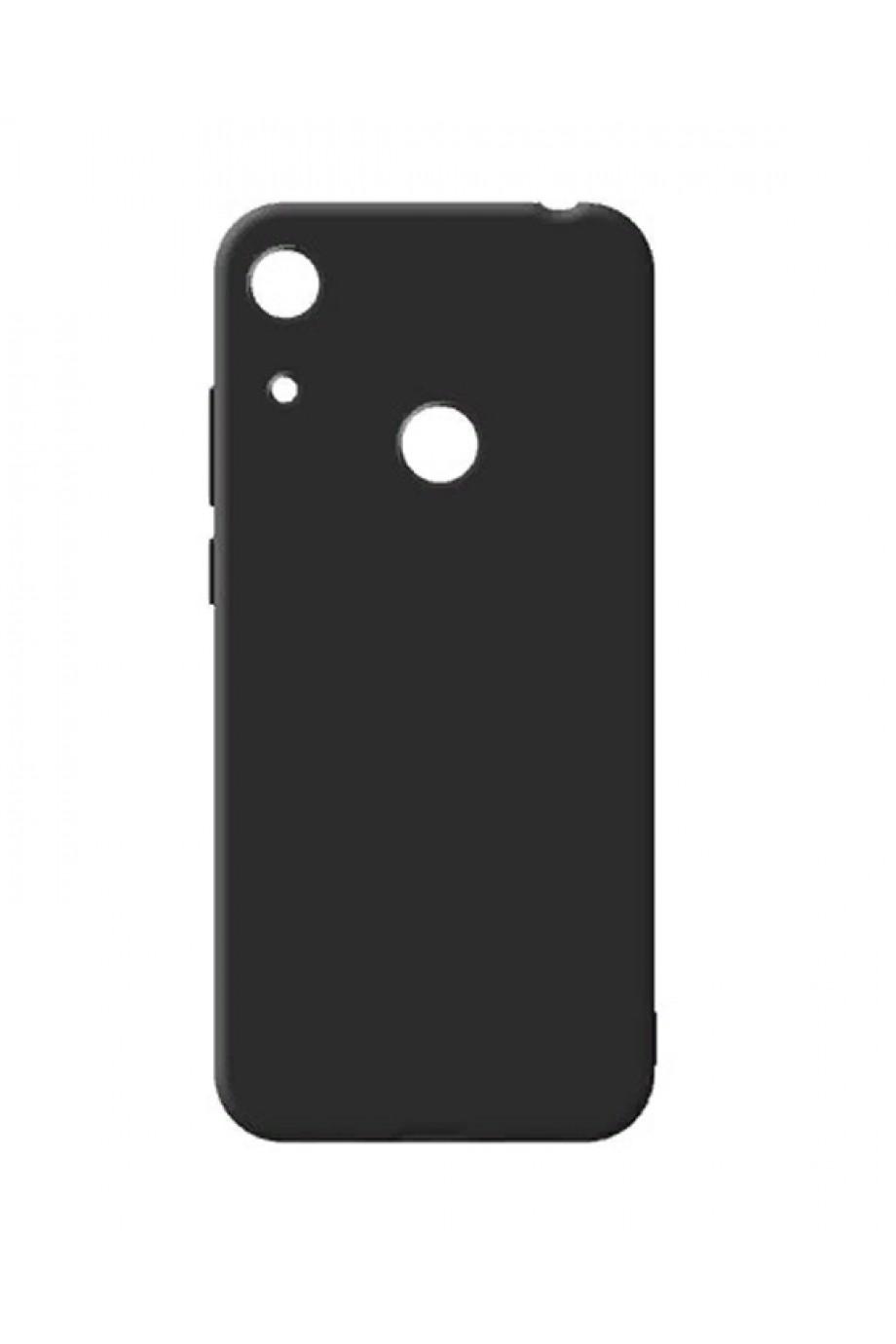Чехол силиконовый для Honor 8A, черный