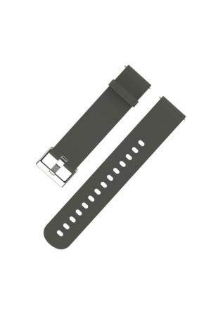 Силиконовый ремешок для Amazfit Bip, 20 мм, серый