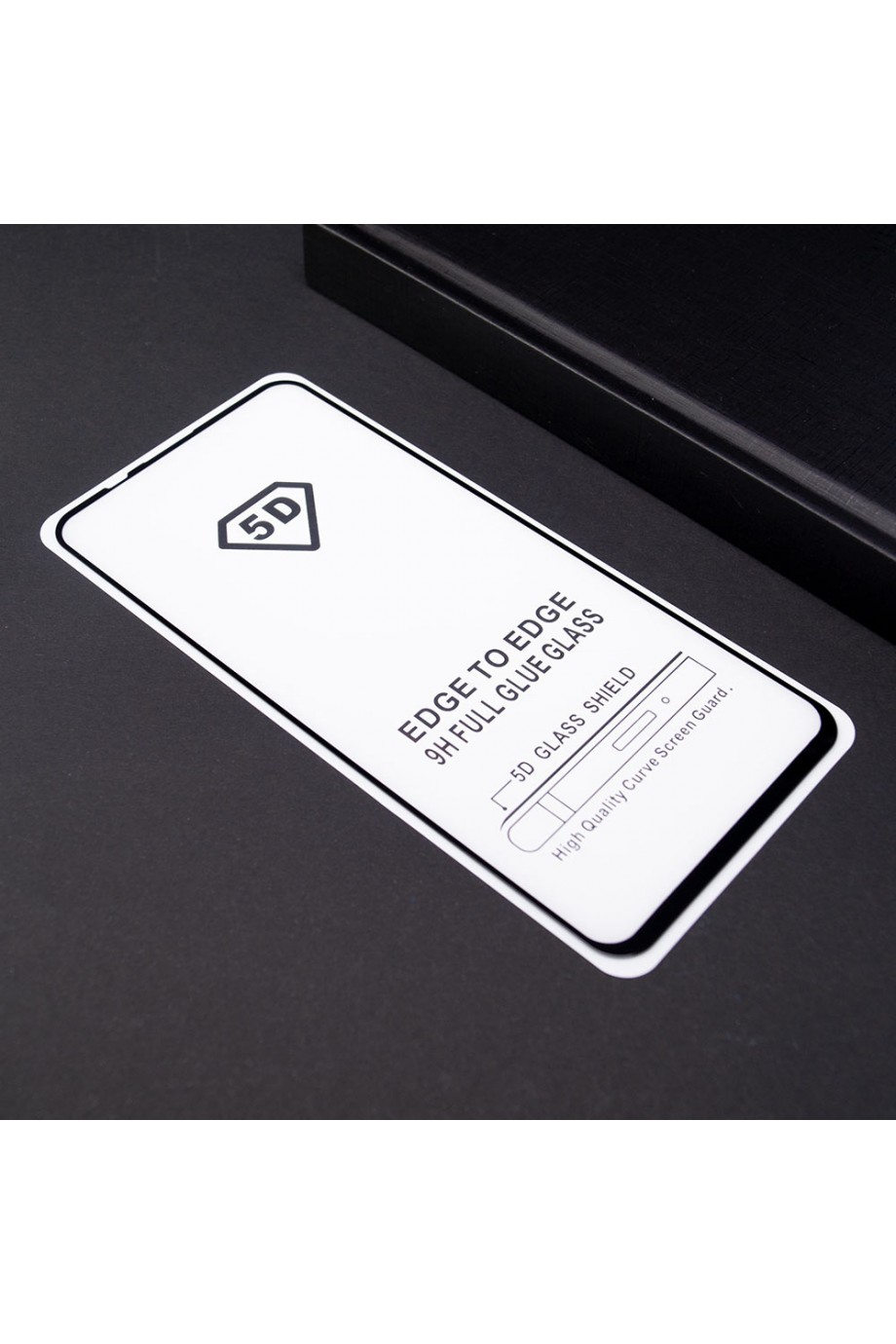 Защитное стекло 5D Mikomo для Honor 20 Pro, черная рамка, полный клей