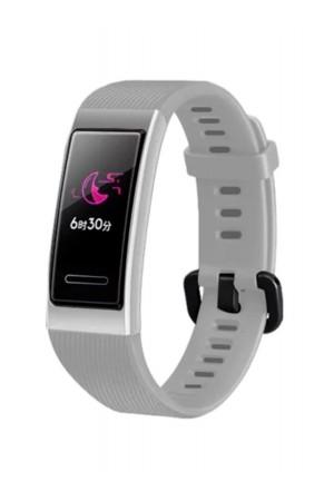 Силиконовый ремешок для Huawei Band 3 Pro, серый