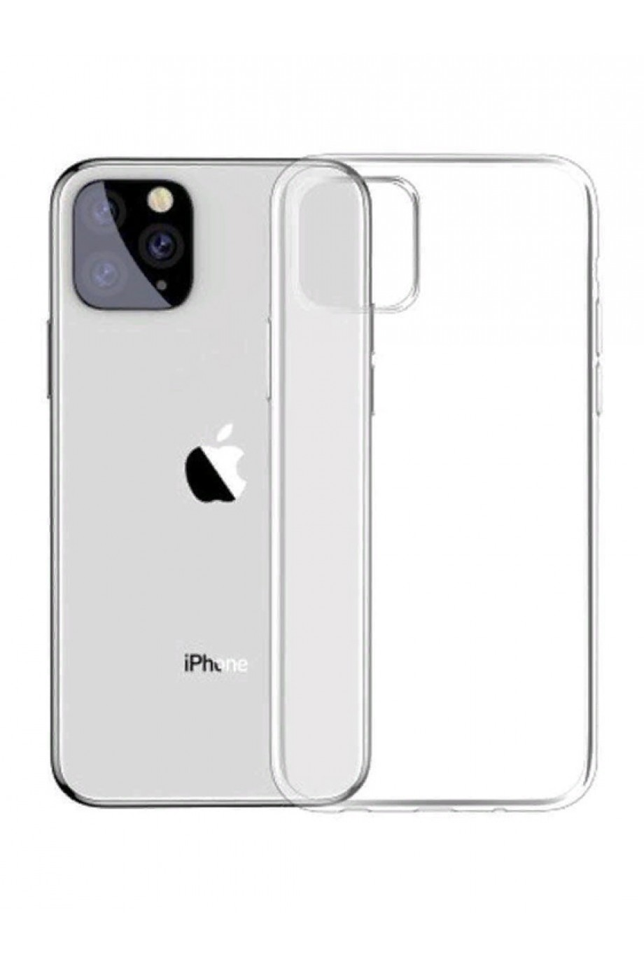 Чехол силиконовый для iPhone 11 Pro Max, прозрачный