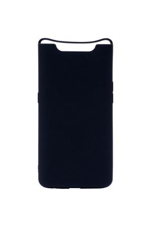 Чехол силиконовый для Samsung Galaxy A80, черный