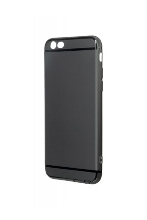 Чехол силиконовый Brauffen для iPhone 6, черный