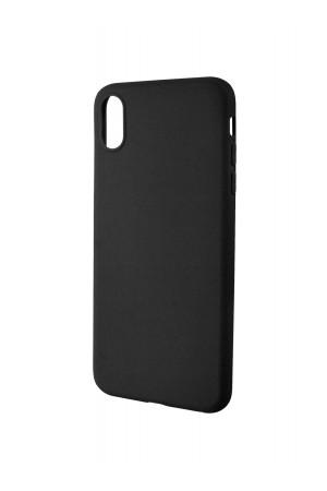 Чехол силиконовый для iPhone XS Max, черный