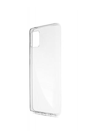 Чехол силиконовый для Samsung Galaxy Note 10 Lite, прозрачный