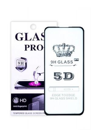 Защитное стекло 5D Glass Pro для Samsung Galaxy A51, черная рамка, полный клей