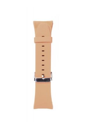 Силиконовый ремешок для Samsung Gear Fit 2, бежевый, FT-0011